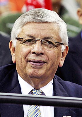 David Stern and the NBA don't see eye-to-eye with Cuban on international competitions. (US Presswire)