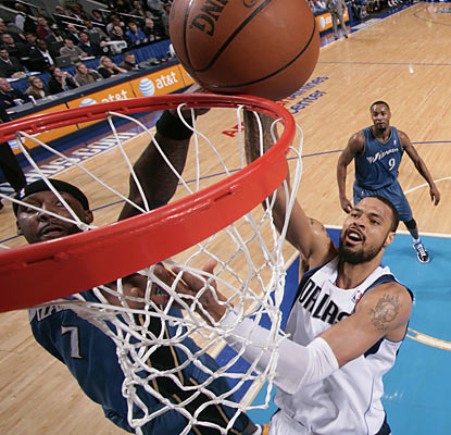 Tyson Chandler stays highly productive around the basket as he finishes with 18 points and 18 rebounds.  (Getty Images)