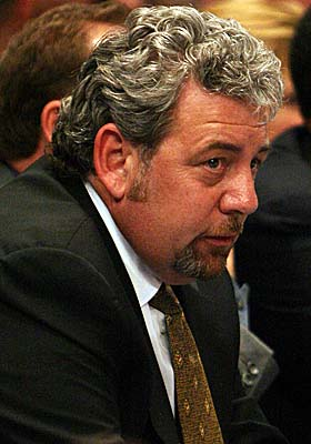 Chairman of Madison Square Garden, James Dolan supervises day-to-day operations of the Knicks. (Getty Images)