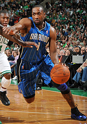 Gilbert Arenas is supposed to receive $43 million after Dwight Howard's free-agent summer of 2012. (Getty Images)