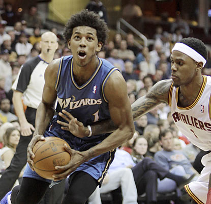 Nick Young leads the Wizards to an overdue road victory by scoring 31 points against the hapless Cavaliers.  (AP)