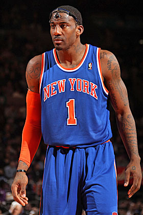 Melo-Amar'e pair is great offensively. But defensively? Not so much. (Getty Images)