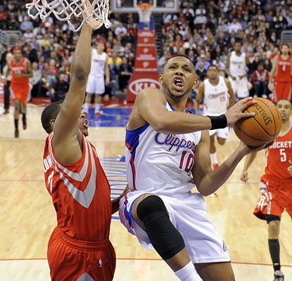 The Clips' Eric Gordon (24 points) doesn't miss a beat after returning from an 18-game hiatus. (AP)