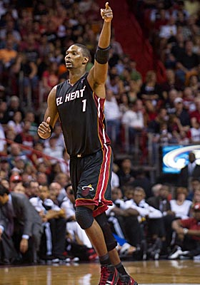 The Heat are looking at paying forward Chris Bosh $16 million next season. (US Presswire)