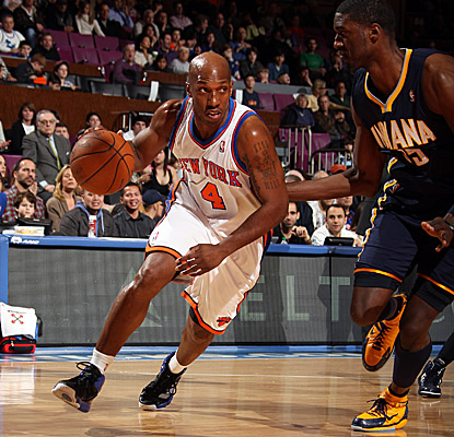 In his return from injury Sunday, Chauncey Billups is good for nine points and four assists. (Getty Images)