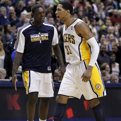 In addition to hitting the game winner, Danny Granger finishes with 26 points, seven boards and three assists.  (AP)