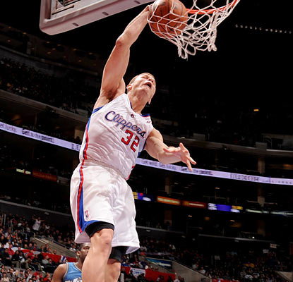 Blake Griffin finishes with 33 points along with 17 rebounds and 10 assists as he adds a new first in his career.  (Getty Images)