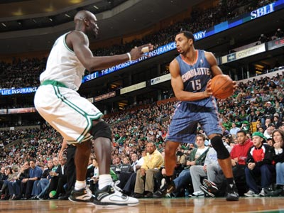 Gerald Henderson scores 15 points against the Celtics while helping the Bobcats rally to victory.  (Getty Images)