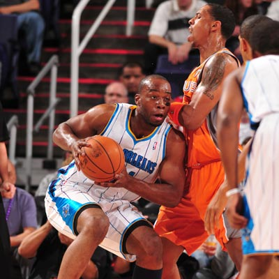 Carl Landry -- 19 points -- plays well for the Hornets while starting in place of the injured David West.  (Getty Images)