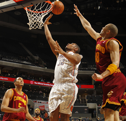 Boris Diaw contributes 26 points, 11 assists and the tiebreaking free throw in the Bobcats' win. (Getty Images)