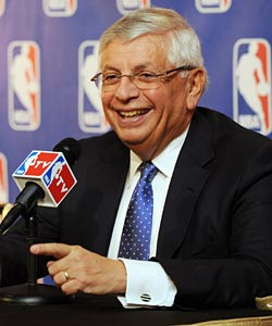 David Stern and the NBA received a wake-up call with the recent NFL ruling. (Getty Images)