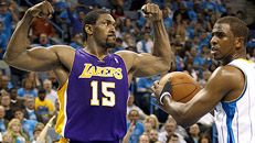 Lakers wrap up series vs. Hornets in dominant fashion