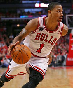 Rose joins Michael Jordan as the only Bulls to be named MVP. (US Presswire)
