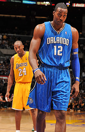 An L.A.-Orlando swap would boost Kobe Bryant, put Dwight Howard in a preferred destination and give his old team some relief. (Getty Images)