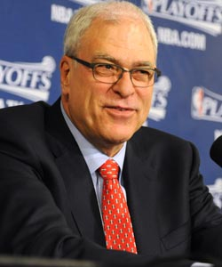 After being swept, Phil Jackson said 'this is my final game as coach.' (Getty Images)