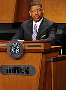 Thanks to Sacramento mayor and three-time NBA All-Star Kevin Johnson, the Kings remain in California's capitol city for now. (Getty Images)