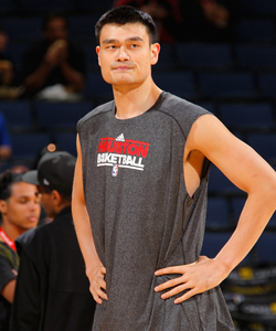 Over the past six years, Yao Ming has missed 250 regular-season games due to injury. (CBSSports.com Original)