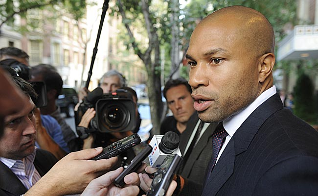 Derek Fisher could be the new Knicks coach.   (USATSI)