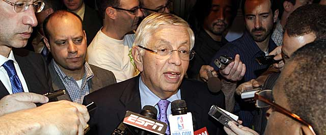 As commissioner, David Stern has presided over the cancellation of games due to lockout twice in 27 years. (AP)