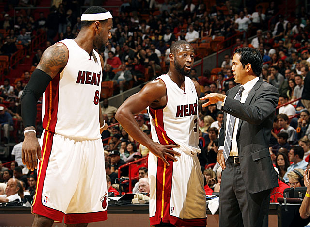 The Heat enter this season looking to build off last year's Finals loss. (Getty Images)