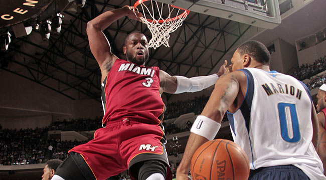 Unlike last season, Dwyane Wade and the Heat start the season with a win. (Getty Images)
