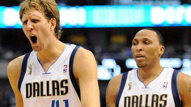 Dirk Nowitzki and Co. are 29th in our rankings, but it's hard to believe they'll reside there for long. (US Presswire)
