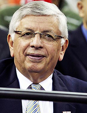 David Stern comes out of the starting gate looking like a genius. (US Presswire)