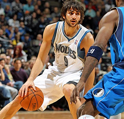 Ricky Rubio has dazzled the NBA thus far, and his 14 points and seven assists help Minnesota get it (Getty Images)