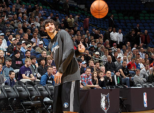 Minnesota's 2-3 so far, but Ricky Rubio has his teammates and Wolves fans on their toes. (Getty Images)
