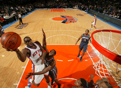 Amare Stoudemire's 25 points and 12 rebounds help the Knicks avenge an earlier loss to the Bobcats. (Getty Images)