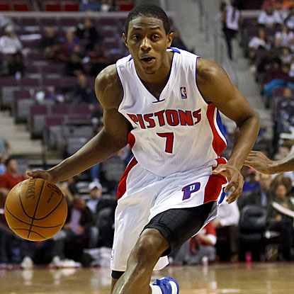 Brandon Knight scores a season-high 26 points as the Pistons end a seven-game losing streak. (US Presswire)