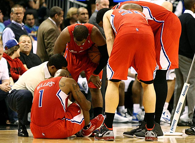 Chauncey Billups, a solid presence behind CP3, may be lost to the Clips with an Achilles injury. (Getty Images)
