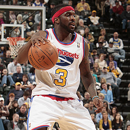 Ty Lawson scores a game-high 27 points to help the Nuggets snap their five-game losing streak.  (Getty Images)