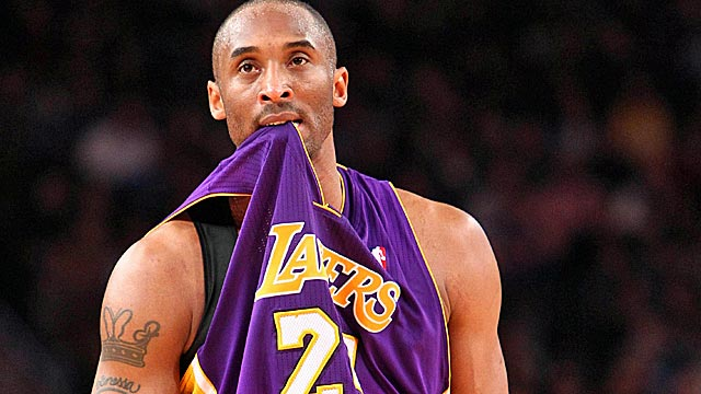 Kobe and the Lakers are trying to find their rhythm in time for a late-season push. (US Presswire)