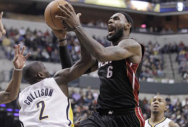 LBJ is no longer deferring to his teammates, and he's putting up historic numbers. (AP)