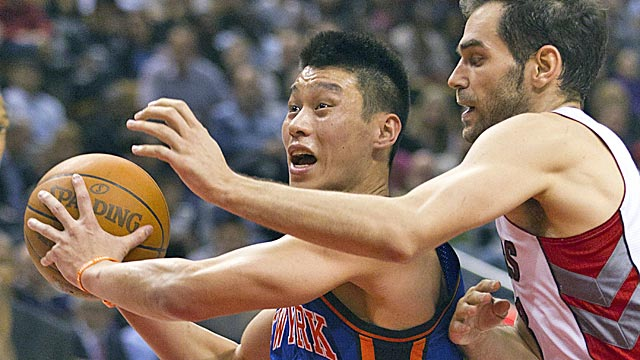 There is no precedent in NBA history for what Lin has done in his first six starts. (Getty Images)