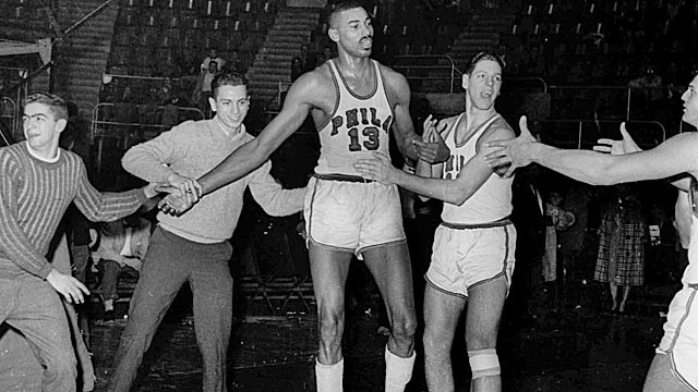 Wilt Chamberlain could be getting his own stamp.  (USATSI)