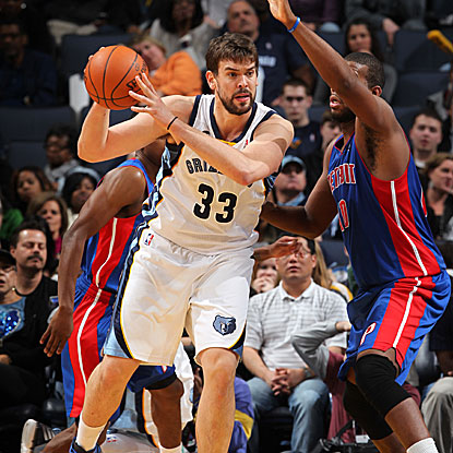 Marc Gasol tallies 17 points and nine rebounds to help the Grizzlies win their fourth straight game.  (Getty Images)