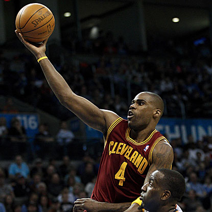 Antawn Jamison scores a team-high 21 points in the Cavaliers' win against the Thunder. (AP)