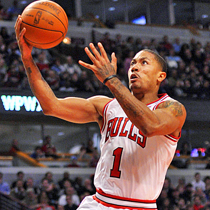 Derrick Rose gets the Bulls back on track with 24 points and 13 assists against the Jazz. (US Presswire)