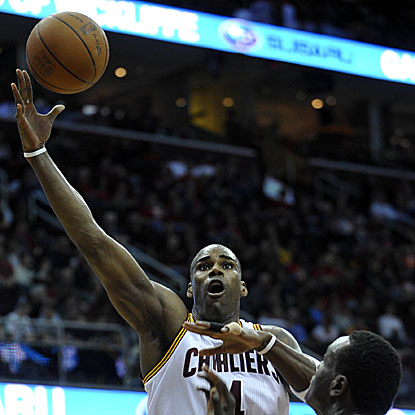 Antawn Jamison scores a team-high 28 points to lead the Cavaliers to their third straight victory.  (US Presswire)
