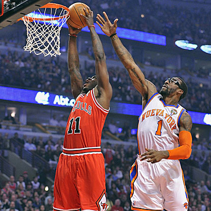 Ronnie Brewer gives the Bulls a balanced effort, tallying 11 points, seven rebounds, and seven assists in the win.  (AP)
