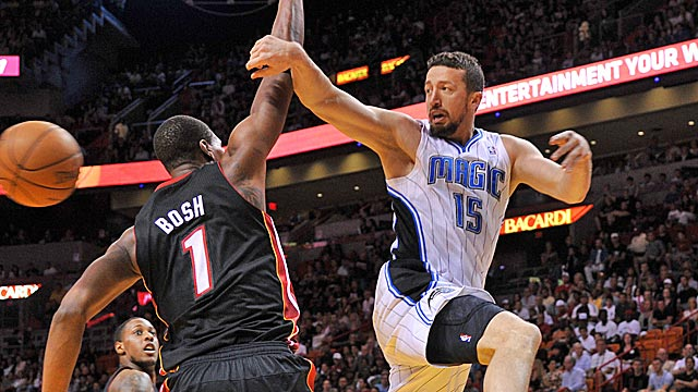 The Magic say they need Hedo Turkoglu to pick up his game if they're going to make a run. (US Presswire)