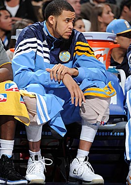 The Nuggets have a message for JaVale McGee: time to focus on becoming a mature NBA player. (Getty Images)