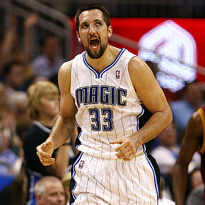 All five Magic starters score in double figures including Ryan Anderson, who gets a game-high 17 points in the win.  (US Presswire)