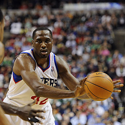 Elton Brand scores 20 points to lead the 76ers to victory for coach Doug Collins' 400th career win.  (US Presswire)