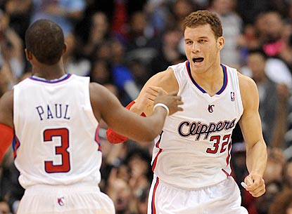 Chris Paul and Blake Griffin combine for 45 points to help the Clippers avenge a loss to the Hornets four nights earlier.  (US Presswire)