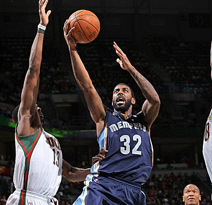 O.J. Mayo scores a season-high 24 points as the Grizzlies enter into a brutal stretch of games.  (Getty Images)