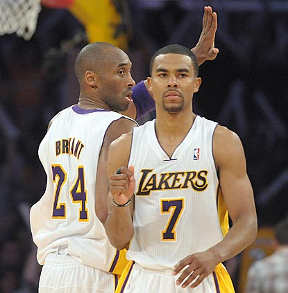 Kobe Bryant is the star, but Ramon Sessions plays a key role with 23 points and a game-high nine assists.  (US Presswire)