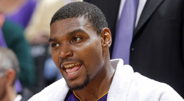 The Lakers aren't saying anything about how they're handling Andrew Bynum's issues. (Getty Images)